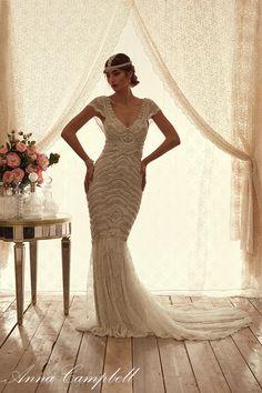 Pretty Anna Campbell Spirit Bridal Collection