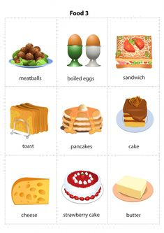 Food vocabulary in Kids English, English Tips, English Food, English Class, English Lessons, Learn English, English Study, Food Vocabulary, English Vocabulary