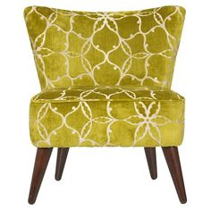 cute retro in pistachio. Love everything about this chair.