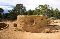 Far View Tower (composite image),  Mesa Verde National Park, Colorado, September 14, 2009 (pinned by haw-creek.com)