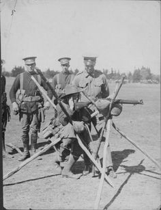 ANZAC forces training in New South Wales during World War One Australia