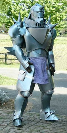 Alphonse Elric - Full Metal Alchemist. Best cosplay i have seen in soooo long!!;)