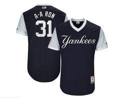 c9f38530af4 Men s Majestic New York Yankees  31 Aaron Hicks