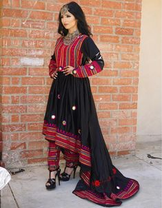Zara Afghan Dress - Shabnam Hossine