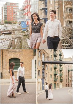 London Engagement Shoot by Sarah Gawler - London Bride
