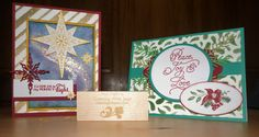 Creating With Joan: Stampin' Up! Star of Light and Peace this Christmas. DOstamperSTARS DSC#202