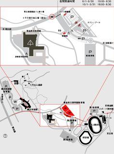 アクセスマップ | 青森県立美術館
