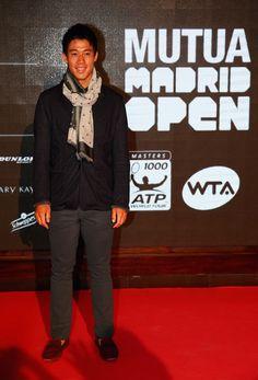 Kei Nishikori Photos - Mutua Madrid Open - Day Two - Zimbio