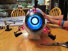Portal Gun DIY... Very thorough walk through of their DIY portal gun. Might try this some day,