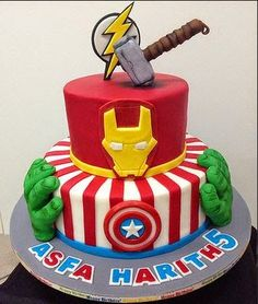 avengers cake - Google Search