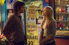"""Across The Universe"" movie still, 2007. L to R: Jim Sturgess, Evan Rachel Wood."