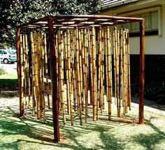 Bamboo chimes feature