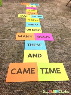 I absolutely love working with sight words. Over the years I have tried to come up with new and engaging activities for sight words that. Fry Words, Fry Sight Words, Teaching Sight Words, Nonsense Words, Sight Word Practice, Sight Word Games, Letter G Activities, Sight Word Activities, Teaching Reading