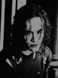 The Crow ohhh hes sooo hot....