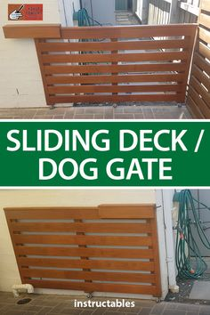 Deck Gate, Porch Gate, Stair Gate, Diy Dog Gate, Diy Baby Gate, Diy House Projects, Garden Projects, Garden Ideas, Outdoor Projects