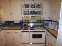 1940 kitchen  | My mom's 1940s kitchen - what kind of flooring?
