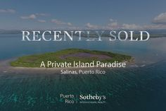 Sold: A private Island paradise off the southern coast, this 25 acre cay offers the ultimate escape. Congratulations to our agents on this monumental sale!  #PuertoRico offers many unique and varied lifestyles..  Discover yours here: https://s.prsir.co/2sg5Hj1?utm_content=buffer0930a&utm_medium=social&utm_source=pinterest.com&utm_campaign=buffer #realestate #privateislands #beach #ocean