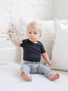 Baby Boy First Haircut, Baby Boy Haircuts, Boy Hairstyles, Cute Baby Boy, Baby Boy Or Girl, Baby Boy Outfits, Kids Outfits, Body Suit With Shorts, Organic Baby