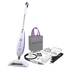 Luna Steam Cleaner Mop by Sienna on Sizzling Steals