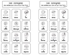 ficheconsigne Troubles Autistiques, French Grammar, Cycle 2, Teaching French, Literacy, Clip Art, Activities, Education, Learning