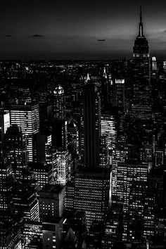 This photograph is an example of unity. It is completely black and white, with all of the buildings made up of the same elements- lights and shadows. This demonstrates the law of repetition, because the same basic elements are applied over and over. These elements are also arranged so that the viewer can make sense of them.The proximity and alignment of lights allows viewers to distinguish different structures within the city. Each building contributes to the scene without contradicting…