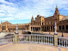 The historic architecture of #Sevilla. #Travel #Spain