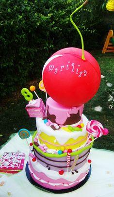 sweet cake - by donatellacakes72 @ CakesDecor.com - cake decorating website