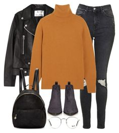 """""""Untitled #2878"""" by elenaday ❤ liked on Polyvore featuring Acne Studios, Topshop, Chloé, STELLA McCARTNEY and Ray-Ban"""