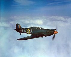 Hawker Hurricane IIc night fighter of 87 Squadron RAF, 1942 - BFD