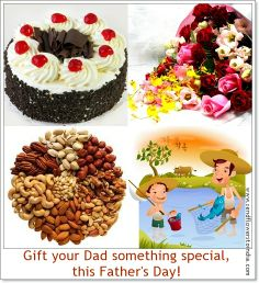 Send customize #flowers  and  #sweets to your DAD to celebrate this day