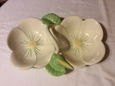 A personal favorite from my Etsy shop https://www.etsy.com/listing/495768959/french-country-ceramic-double-tulip