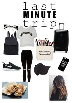 """Last minute trip 💘🎒✈️"" by theofili-mout on Polyvore featuring New Look, NIKE, Victorinox Swiss Army and rag & bone"