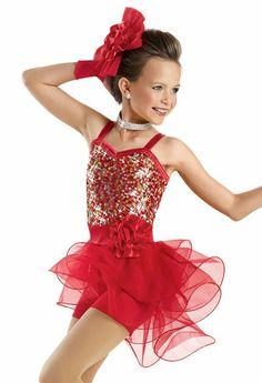 Jazz dance costume