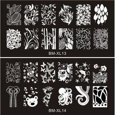2016 New Series BM Nail Stamping Plates DIY Image Konad Nail Art Manicure Templates Stencils Salon Beauty Polish Tools http://hubz.info/81/this-look-is-amazing