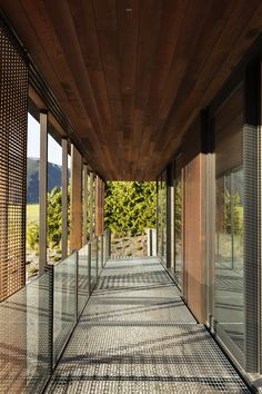 Materials: TGA |glass Sustainable Architecture, Residential Architecture, Passive House Design, Colorful Centerpieces, Outside Living, Western Red Cedar, Architect House, Rustic Elegance, New Builds