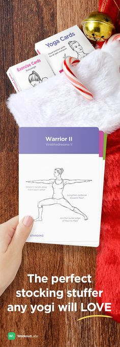 Get the perfect stocking stuffer or Christmas gift for the yogi on your list –Yoga Cards from http://WLShop.co