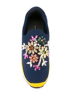 Dolce & Gabbana кроссовки-слипон 'Barcelona'