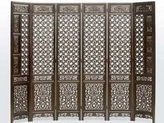 The Chinese screen divider design is like the usual divider but gives special touching for home interior.