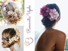 romantic updo flowers_recogido flores invitada boda http://www.fashioninthestreet.es/2013/10/10/flowers-for-wedding-guests-flores-para-invitadas-a-boda/