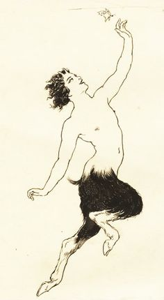 Norman Lindsay... Vision ...pen & ink drawings... a journal 1923...part 1