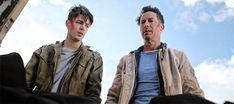 eobard-thawnes: Tom Cavanagh and Grant Gustin in TOM and GRANT...
