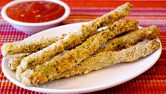 Baked Italian Asparagus Sticks  ~From Dash Recipes