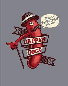 serialthrill:  Dapper Dogs by Leon Ryan