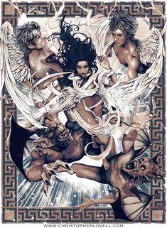 Between Darkness and Wonder - Christopher Lovell by Lovell-Art.deviantart.com on @deviantART