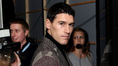 Gareth Barry at Fashion Kicks 2012