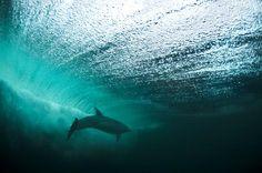 A beleza do azul do mar nos faz respirar profundamente!