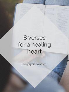 Simply Clarke: 8 Verses for a Healing Heart