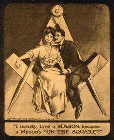 Masonic wife.