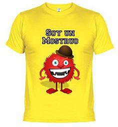 Camisetas Soy un Monstruo #Camisetas  #optimismo #motivation http://www.latostadora.com/emcmasquecamisetas