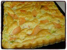 Moelleux saumon poireau Temps de préparation : 20 minutesTemps de cuisson : 30 minutes + 20 minutesRecette pour un moule de 22cm/22cm Ingrédients : * 4 œufs* 120g de farine* 10cl de lait* sel, poivre* 4 tranches de saumon fumé* 1 blanc de poireau Préparation...
